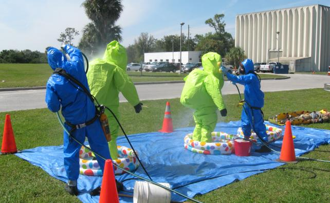 Hazardous Material Handling Course (HMH) at the Emcare Training Academy