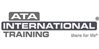 ATA International Logo Black and white