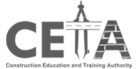 CETA Logo Black and white