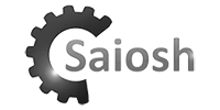saiosh Logo Black and white
